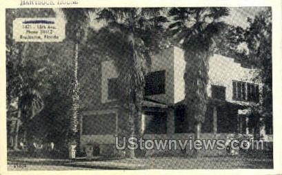 Hartsock House - Bradenton, Florida FL Postcard