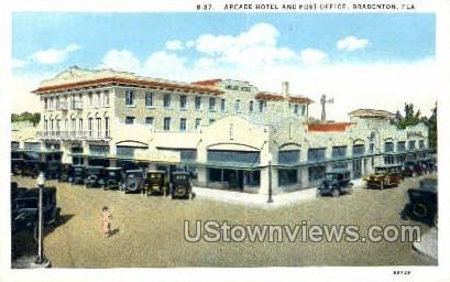 Arcade Hotel - Bradenton, Florida FL Postcard