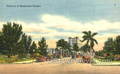 Bradenton, Florida, FL, Postcard