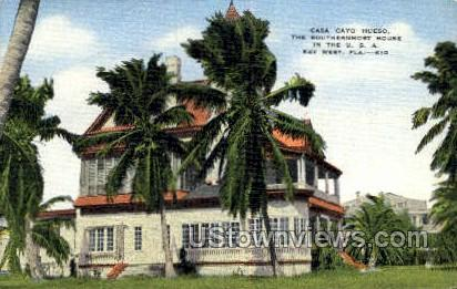 Casa CayoHueso - Key West, Florida FL Postcard
