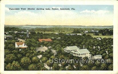 Lake Parker - Lakeland, Florida FL Postcard