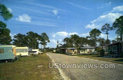 Royal Palms Trailer Park - Sarasota, Florida FL Postcard