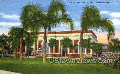 Union Station - Tampa, Florida FL Postcard