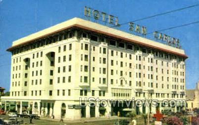Hotel San Carlos - Pensacola, Florida FL Postcard