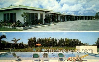 All State Motel - Clearwater, Florida FL Postcard