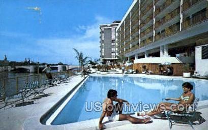 Manger Motor Inn - Tampa, Florida FL Postcard