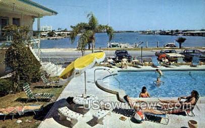 Sandman Hotel - Clearwater Beach, Florida FL Postcard