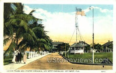 Cocoa Palms - Key West, Florida FL Postcard