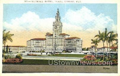 Biltmore Hotel - Coral Gables, Florida FL Postcard