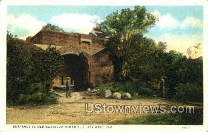 Old Martello - Key West, Florida FL Postcard