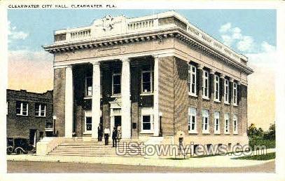 Clearwater City Hall - Florida FL Postcard