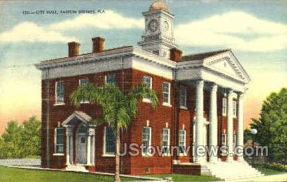 City Hall - Tarpon Springs, Florida FL Postcard