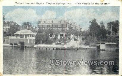 Tarpon Inn - Tarpon Springs, Florida FL Postcard