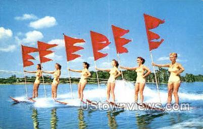 Aqua-Maids - Cypress Gardens, Florida FL Postcard