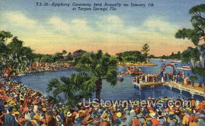 Ceremony - Tarpon Springs, Florida FL Postcard