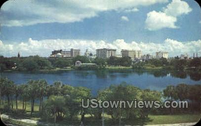 Skyline - St Petersburg, Florida FL Postcard
