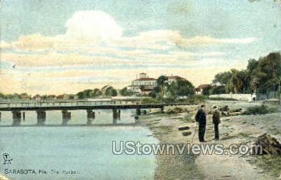 Harbor - Sarasota, Florida FL Postcard