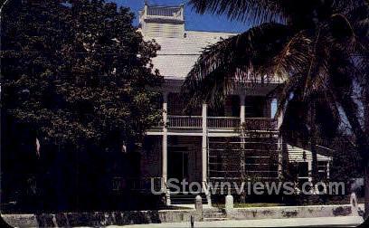 Old Home - Key West, Florida FL Postcard