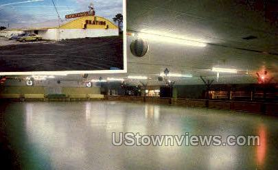 Bradenton Skating Rink, Inc - Florida FL Postcard