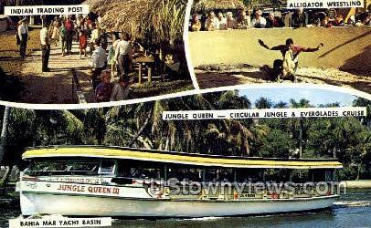 Bahia Mar Yacht Basin - Fort Lauderdale Beach, Florida FL Postcard