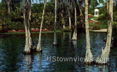 Gazebo - Cypress Gardens, Florida FL Postcard
