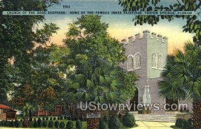 Church - Tarpon Springs, Florida FL Postcard