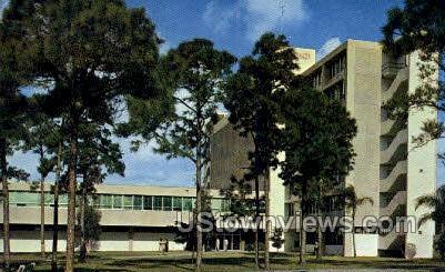 Ash Memorial - Coral Gables, Florida FL Postcard