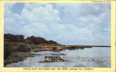 Aviation Center - Leesburg, Florida FL Postcard