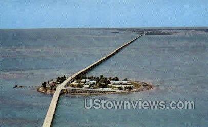Pigeon Key - Key West, Florida FL Postcard