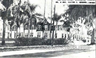 Oaks Hotel - Rockledge, Florida FL Postcard