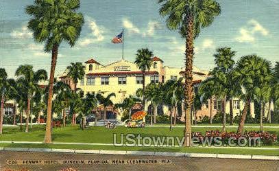 Fenway Hotel - Clearwater, Florida FL Postcard
