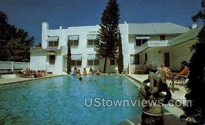 Albemarle Hotel - St Petersburg, Florida FL Postcard