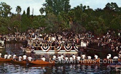 Greek Epiphany - Tarpon Springs, Florida FL Postcard