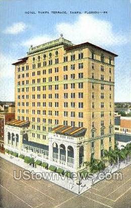 Terrace - Tampa, Florida FL Postcard