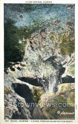 Bridal Chamber - Silver Springs, Florida FL Postcard