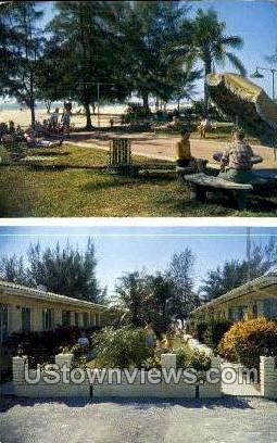 Sunrise Apt Motel - St Petersburg, Florida FL Postcard