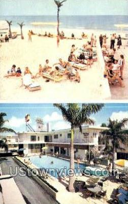 Lido Beach Congress Inn - Sarasota, Florida FL Postcard