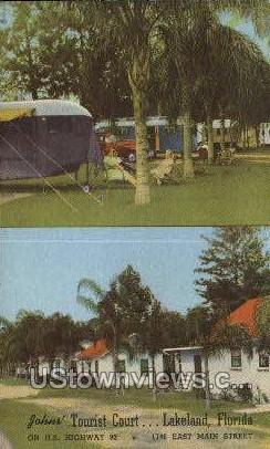 Tourist Court - Lakeland, Florida FL Postcard