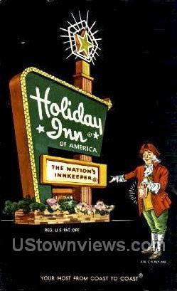 Holiday Inn - Tampa, Florida FL Postcard