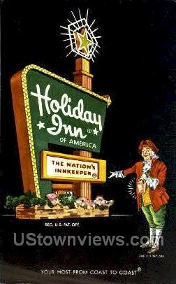 Holiday Inn - Tampa, Florida FL Postcard