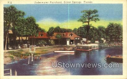 Fairyland - Silver Springs, Florida FL Postcard