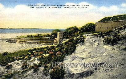 Fort Barrancas - Pensacola, Florida FL Postcard