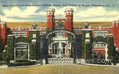 Florida State College - Tallahassee Postcard