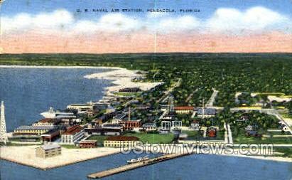 US Naval Air Station - Pensacola, Florida FL Postcard
