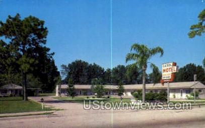 Carol Motel - Ruskin, Florida FL Postcard
