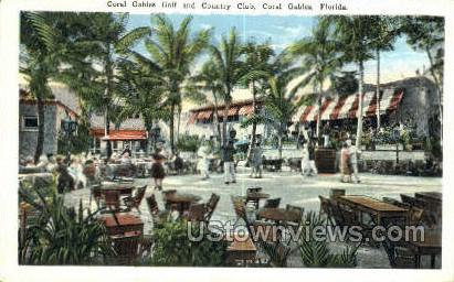 Country Club - Coral Gables, Florida FL Postcard