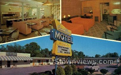 Cadillac Motel - St Petersburg, Florida FL Postcard