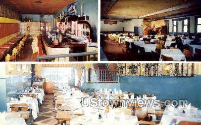 Lotus Restaurant - Daytona, Florida FL Postcard