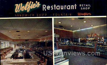 Wolfie's Restaurant - St Petersburg, Florida FL Postcard