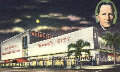 Webb's City - St Petersburg, Florida FL Postcard